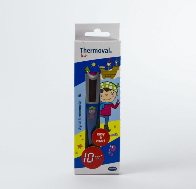 Thermometer Pirat in Verpackung