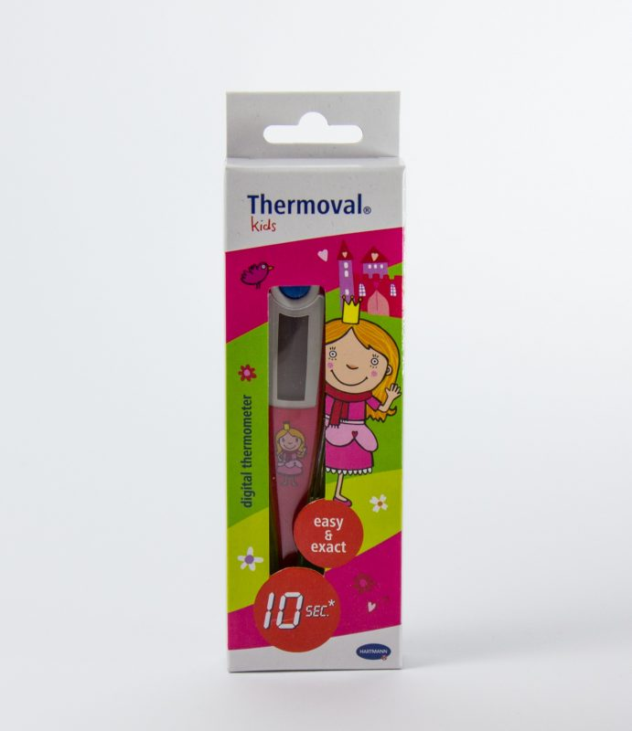 Thermometer Prinzessin in Verpackung